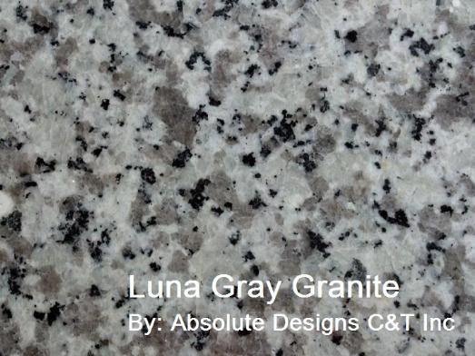 luna gray granite