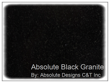 Granite Colors Absolute Black Absolute Designs Granite Countertops